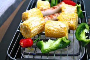 Grillimine köögiviljadega aitab hoida menüüd tasakaalus.