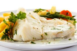 Letsitiini leidub nii kalas kui ka teistes mereandides.