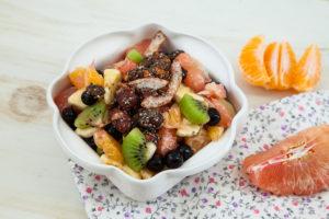 C-vitamiini rikas puuviljasalat.