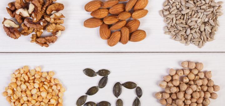 Tsinki leidub rohkelt pähklites, seemnetes ja kikerhernestes.