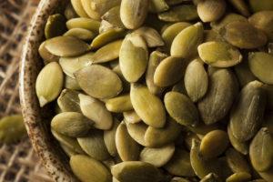 Kõrvitsaseemned on head tsingiallikad. Tsink aitab ennetada külmetust ja toetab immuunsüsteemi.