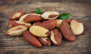 Brasiilia pähklid on ühed kontsenteeritumad seleeniallikad: piisab vaid 2 pähklist päevas.