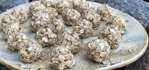 Tervislikud kommid maapähklivõi ja meega