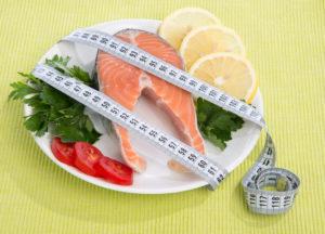 Lõhe sobib tänu kõrgele valgusisaldusele hästi menüüsse ka kaalulangetamisel.