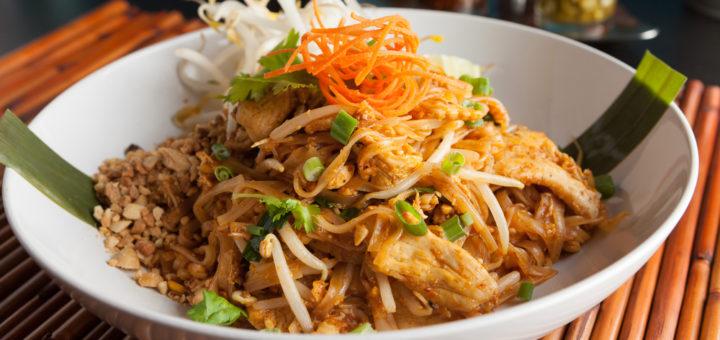 Thai pad on roog, mis sisaldab kõrge B3-vitamiini sisaldusega kana kui ka maapähkleid.
