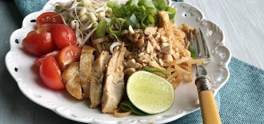 Pad Thai kanafilee ja idudega