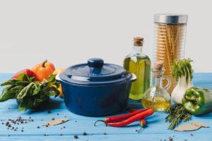 Toidu küpsetamiseks sobib kõige paremini extra virgin oliiviõli, millel on oliiviõlidest kõige kõrgem suitsemispunkt.
