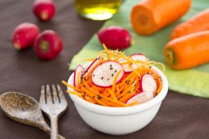 Porgandisalat soodustab rasvade seedimist ja aitab kolesterooli tasakaalus hoida.